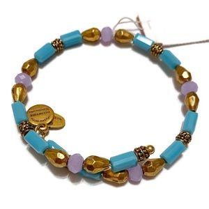 Alex and Ani Marina Seabed Wrap Bracelet